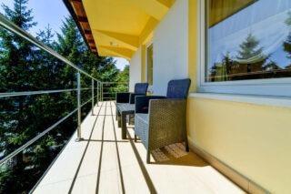 Balkon przy pokoju LUX