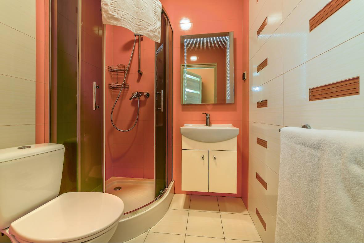 Łazienka pokoju typu LUX