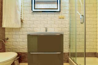 Prywatna łazienka w pokoju LUX